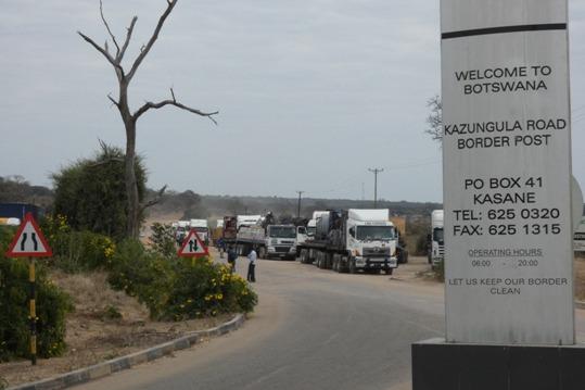 Frontera de Kazungula.