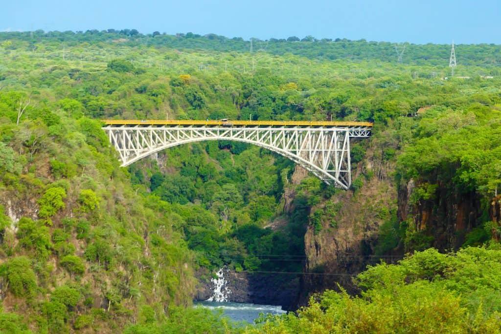 Puente de Hobson, Victoria Falls