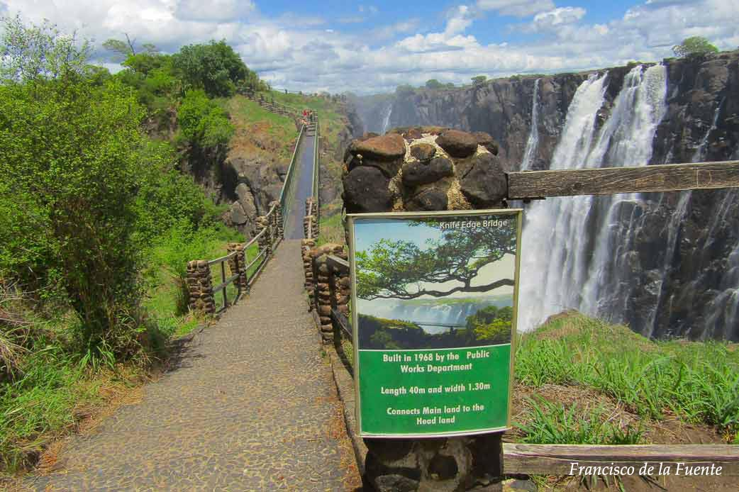 Knife Edge Bridge, Victoria Falls