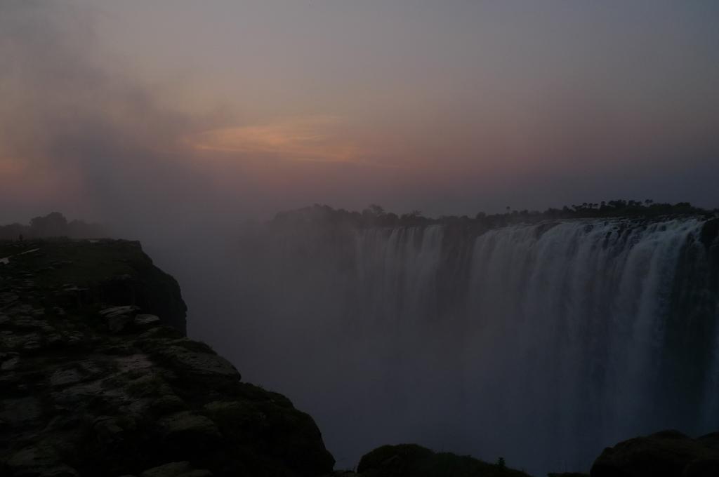 Cascada principal, Victoria Falls.