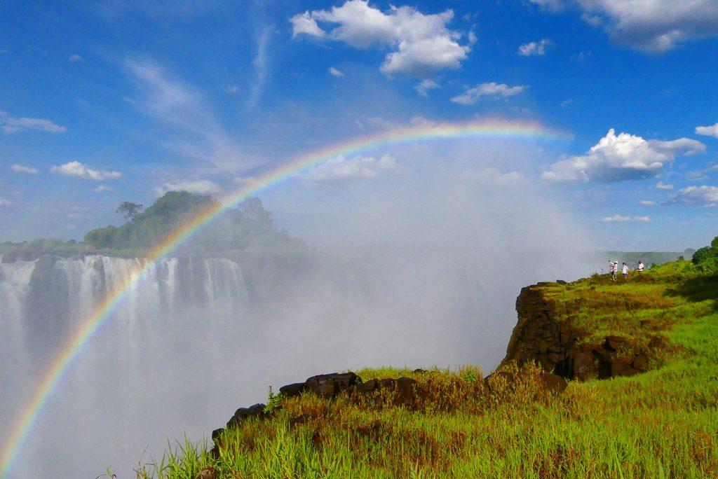 Arcoiris en Victoria Falls.