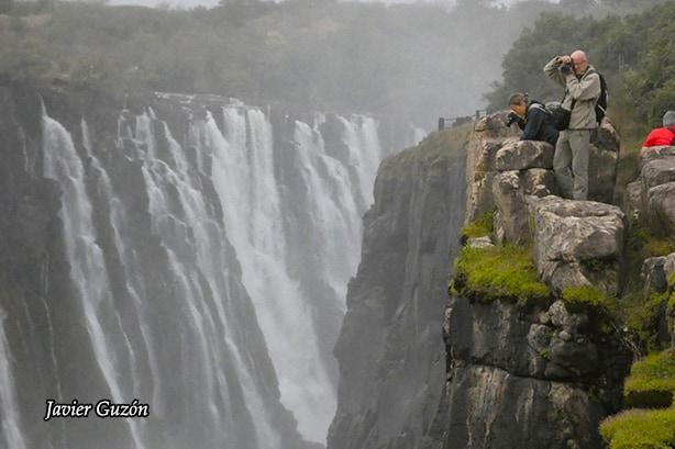 Danger point, Victoria Falls.