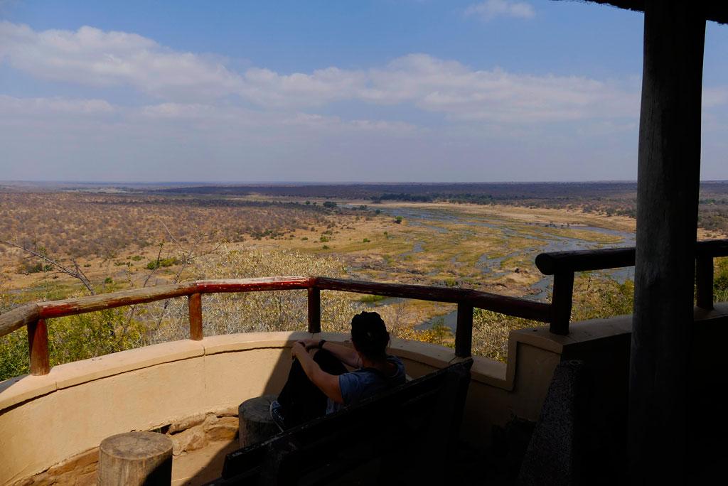 Vistas desde el miador de Olifants, Kruger