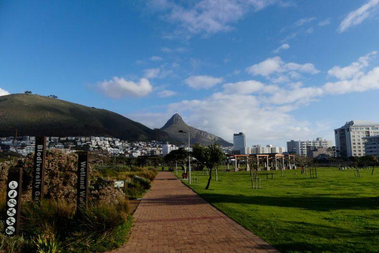 Lions Head desde Green Point. Ciudad del Cabo.