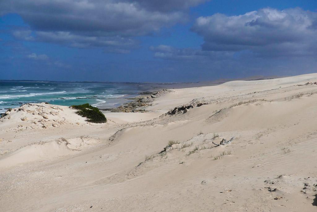 Playa en De Hoop.