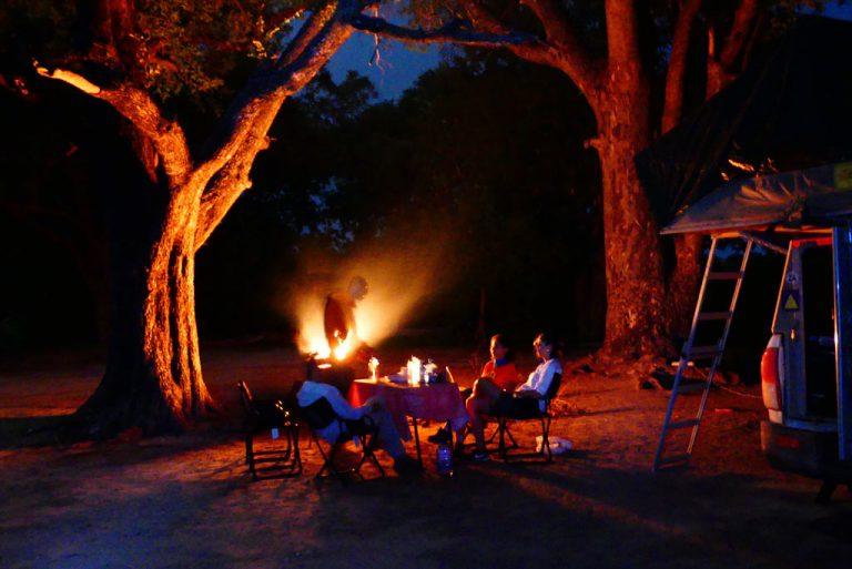 Acampada en Xakanaxa con fantasma.