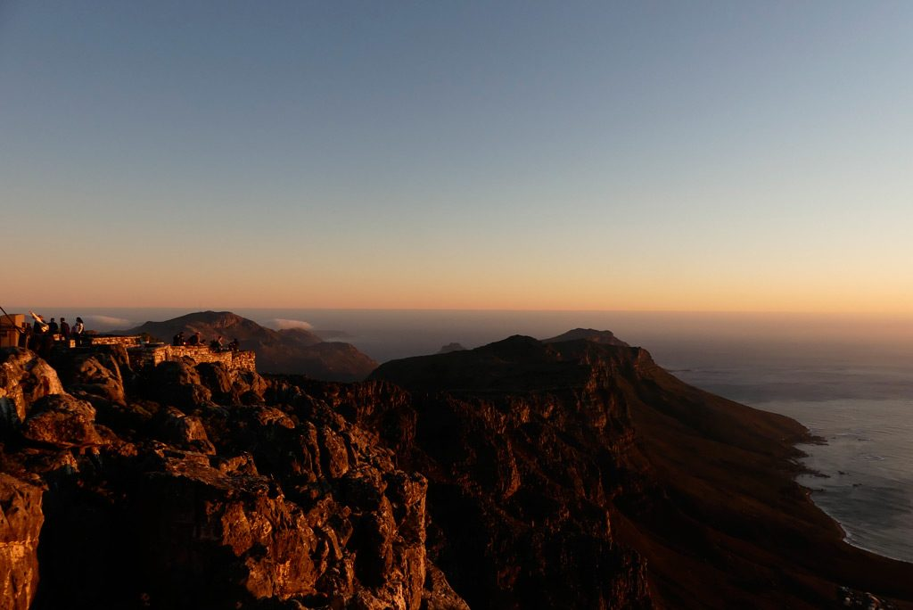 Atardecer desde Table Mountain.